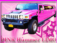 exotic pink limo